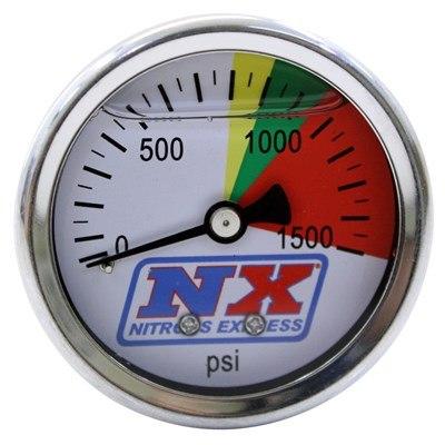Manometr 0-100 BAR do butli nitro - GRUBYGARAGE - Sklep Tuningowy